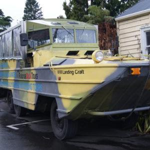 Duck Tours- WWII amphibious landing craft