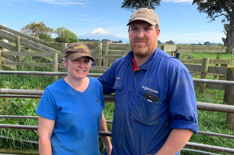 Aimee and Dean Perrett crop