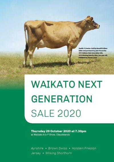 2020 Waikato Next Generation Sale WEB