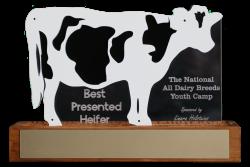 McDonald Family Trophy (Best Presented Heifer)