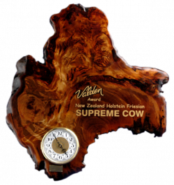 Valden Cow of the Year Clock